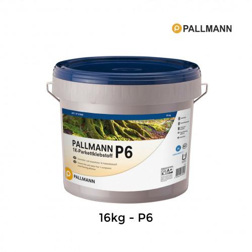 16kg Tub: Pallmann - P6 - Premium STP Wood Flooring Adhesive - 1 Component - EC1