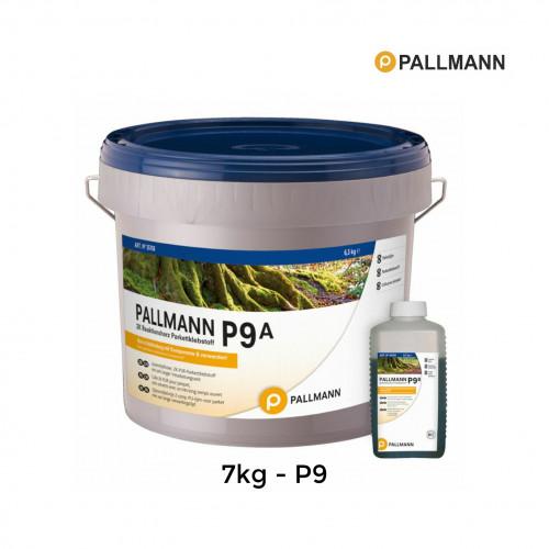 7kg Tub: Pallmann - P9 - Wood Flooring Adhesive - 2 Component - EC1
