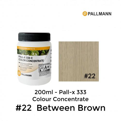 0.2ltr: Pallmann - Pall-x-333 C - Colour Concentrate - Between Brown - No.22