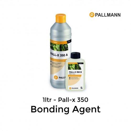 1ltr: Pallmann - Pall-x-350 - A/B 2K Polyurethane Bonding Agent - (0.75ltr + 0.25ltr)