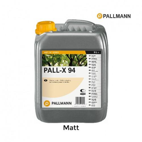 5ltr: Pallmann - Pall-x-94 - Matt - 1K Water Based Lacquer