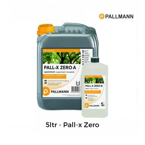 10ltr: Pallmann - Pall-x-Zero - 2K Water Based Solvent Free Lacquer