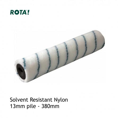 """Premier - Roller Sleeve - Blue Stripe - Solvent Resistant Nylon - 13mm Pile - 380mm - 15"""""""