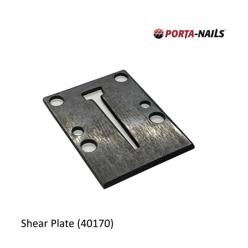 PortaNail - Porta Nailer Shear Plate-Closed for 402A