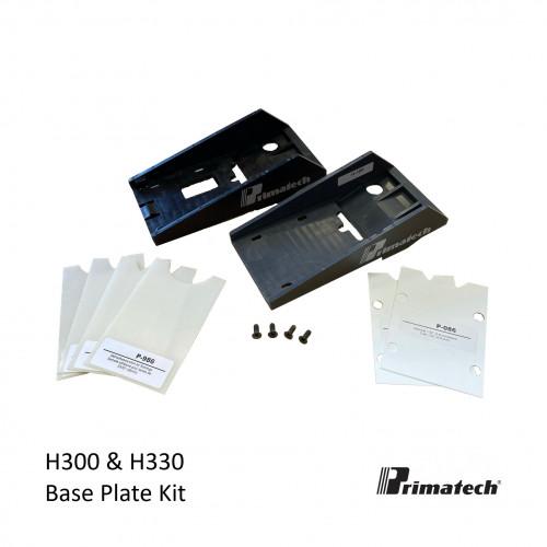 Primatech - H300 & H330 Base Plate Kit - Inc H-188 Foot H-108 Foot & Shims +4 Screws