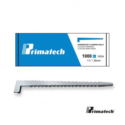 1 Box: Primatech - L Nails - 38mm - 16 Gauge - (1000/Box) - Blue Box