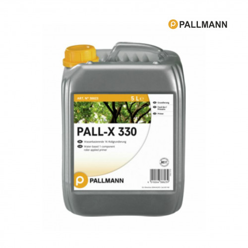 5ltr: Pallmann - Pall-X 330 - Oak - Water Based Solvent-Free & VOC-Free 1-Component Primer for Roller Application