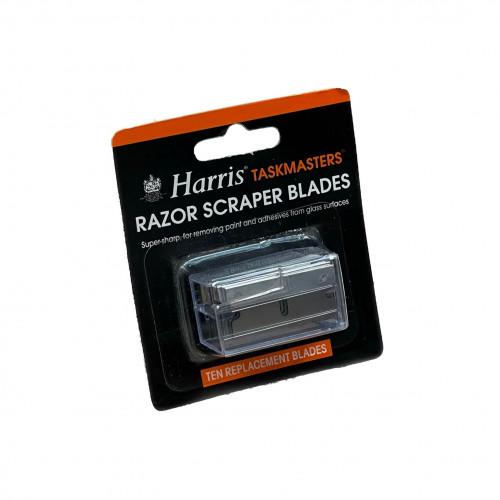 1pk: Harris - Taskmaster - Replacement Blades - For Razor Scraper - (10/pk)