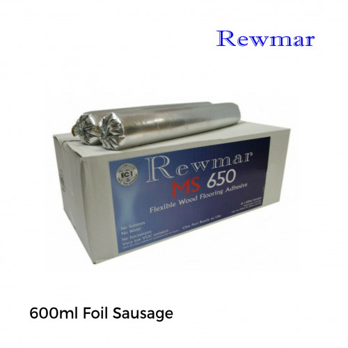 600ml Foil: Rewmar - MS650 - MS Polymer Adhesive Sausage