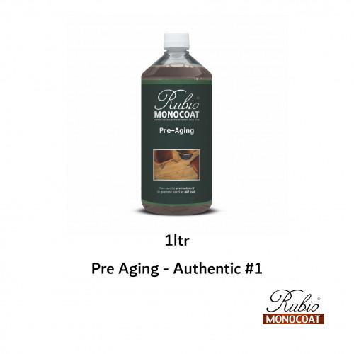 1ltr: Rubio Monocoat - Pre Aging - Authentic #1 - Authentic Ammonia Look