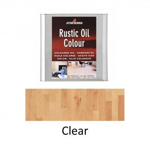 0.75ltr: Junckers - Rustic Oil - Clear - Hardening Urethane Oil