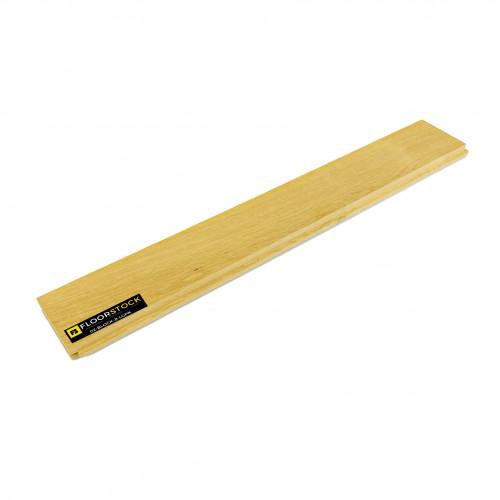 Sample: 22mm - Prime Grade Oak - Solid Herringbone Block Flooring - Lefts & Rights - Unfinished - 22x70x500mm (1.4m²/pk)