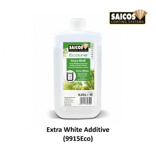 0.45ltr: Saicos - Ecoline MultiTop Plus - Additive - Extra White - (9915Eco261)