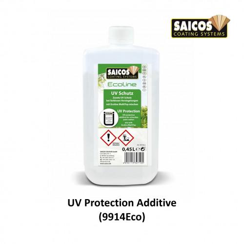 0.45ltr: Saicos - Ecoline MultiTop Plus - Additive - UV Protection - (9914Eco261)