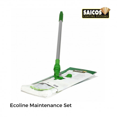 Saicos - Ecoline Maintenance Set - 3pcs/set - Telescopic Handle & 2 Wipers