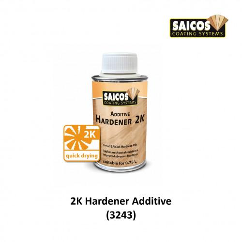 0.125ltr: Saicos - Premium Hardwax Oil - Additive - Hardener 2K