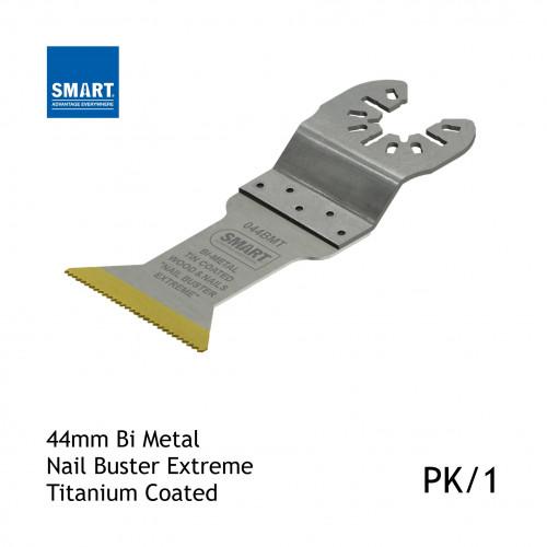 1pk: Smart Blade - 44mm - Nail Buster Extreme Bi-Metal Titanium Coated Blade - (1/pk)