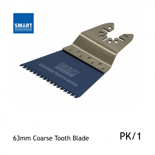1pk: Smart Blade - 63mm - Coarse Toothed Sawblades - (1/pk)