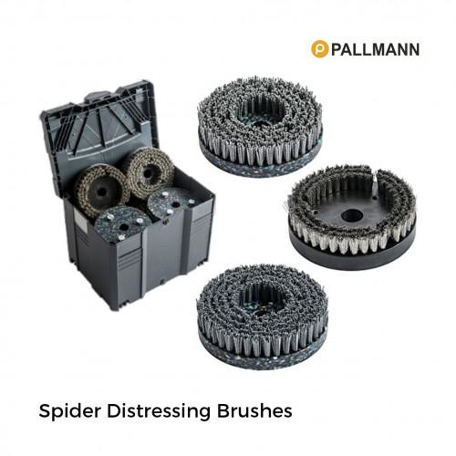 Pallmann - Spider - Brush Set for Distressing Floors