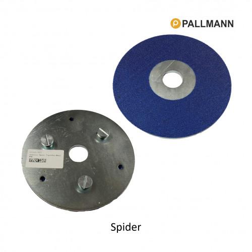 Pallmann - Spider - Triple Disc Metal Pad