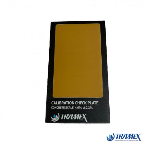 Tramex - Calibration Check -  fits: CME4, CRH, CMEX & CMEX II - (1 button / metal body)