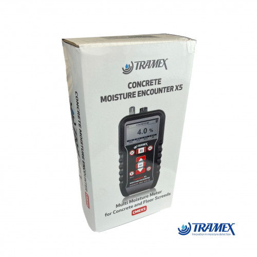 Tramex - CMEX5 - Digital Concrete Moisture Encounter X5