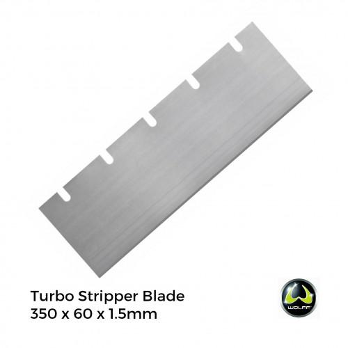 1pk: Wolff - Turbo Stripper - Spare Blades - 350x60x1.5mm - (10/pk)