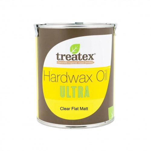 0.5ltr: Treatex - Hardwax Oil - Ultra - Clear Flat Matt - (210d)