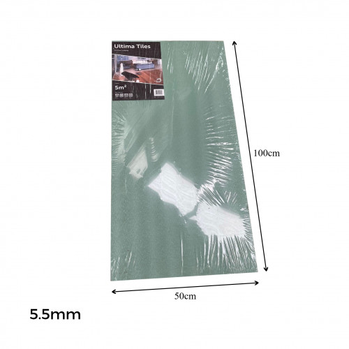 1pk: Ultima Tiles - Sound & Thermal 22dB Reduction Underlay Tile - 5.5mm depth - (5m²/pk)