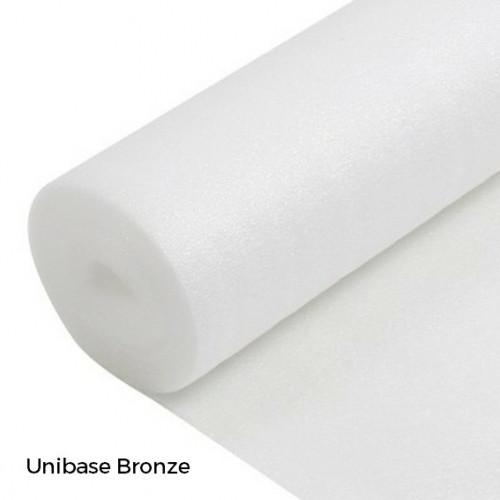 1 Roll: Unibase Bronze - 2mm Cushion Underlay - 1m x 15m x 2mm - (15m²/Roll)