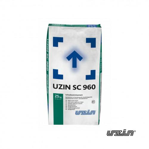 25kg Bag: Uzin - SC960 - Rapid Screed Cement