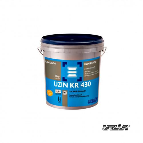 8kg Tub: Uzin - KR430 - 2K PU Adhesive - For Heavy Duty Floor Coverings