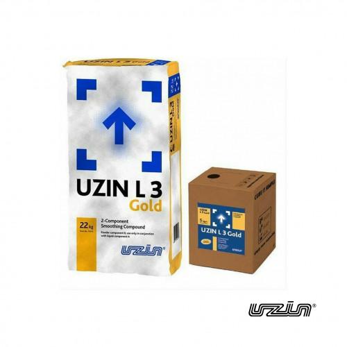 22kg Bag & 5ltr Tub: Uzin - L3 Gold - Powder and Liquid