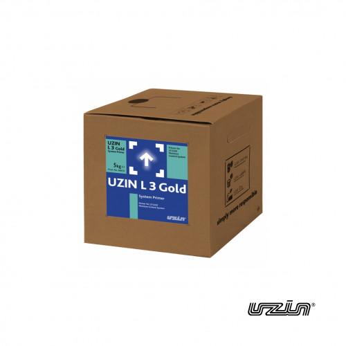 5kg Box & Bottle: Uzin - L3 Gold System Primer - for use in L3 Gold Moisture Control System