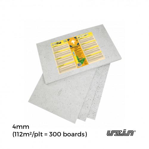 1plt: Uzin - Multimoll SoftSonic EC1 - 4mm Underlay - 75 x 50cm - (112m²/plt = 300 boards/pallet not boxed)