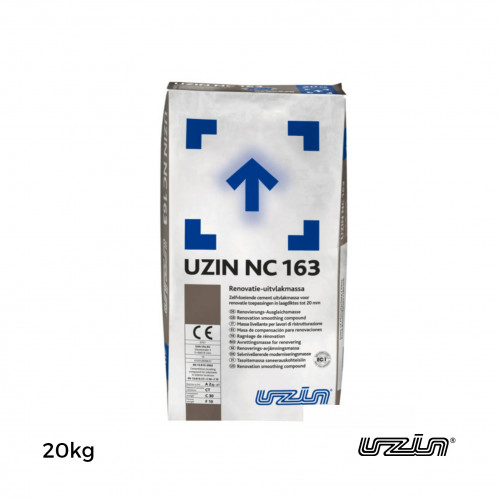 20kg Bag: Uzin - NC163 - Smoothing Compound - Can be used without priming
