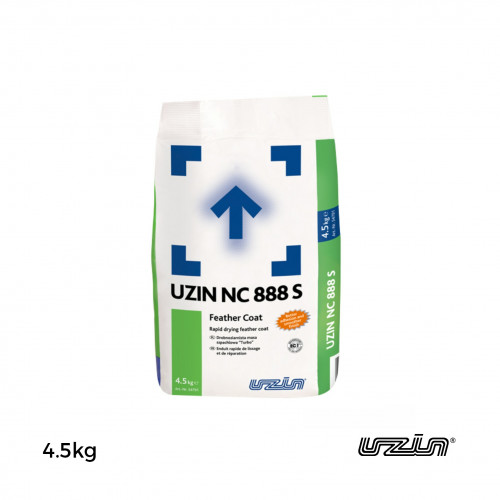 4.5kg Bag: Uzin - NC888S - Very Rapid Drying Feather Coat Smoothing Compound