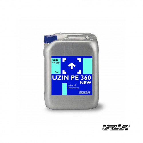 5kg Tub: Uzin - PE360 Plus - Fast Drying Ready Mixed Multi Purpose Dispersion Primer for absorbent surfaces