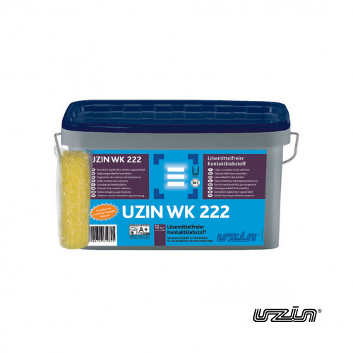 12kg Tub: Uzin - WK222 - Water Based Solvent Free Neoprene Contact Adhesive