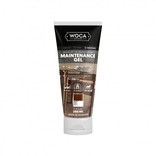 0.2ltr: WOCA - Maintenance Gel - Walnut