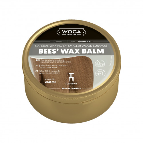 0.25ltr: WOCA - Bees Wax Balm - Natural
