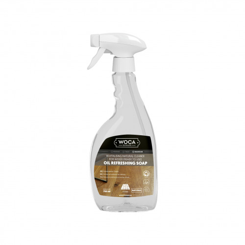 0.75ltr: WOCA - Oil Refresher Spray - Natural