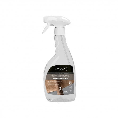 0.75ltr: WOCA - Natural Soap Spray - White
