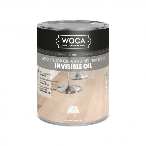 1ltr: WOCA - Invisible Oil - Untreated Look