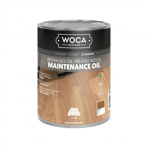 1ltr: WOCA - Maintenance Oil - Brown