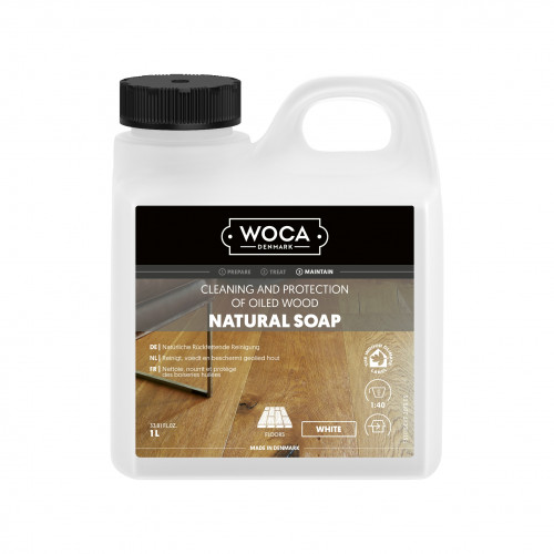 1ltr: WOCA - Natural Soap - White
