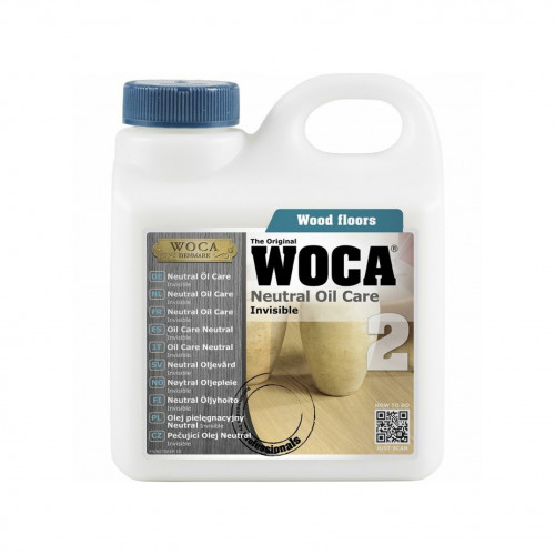 1ltr: WOCA - Neutral Oil Care - For Use With WOCA Neutral Oil