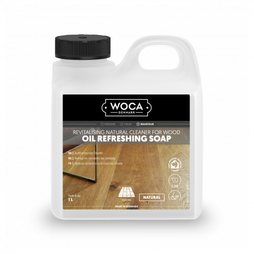 1ltr: WOCA - Oil Refresher - Natural Refreshing Soap