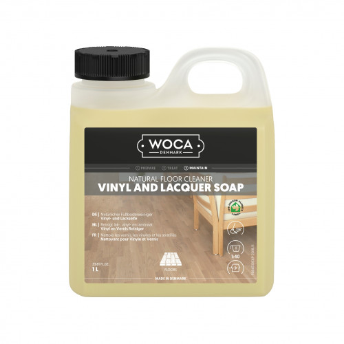 1ltr: WOCA - Master Cleaner - Vinyl & Lacquer Soap