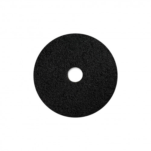 "WOCA - 16"" Black Floor Pad - 10mm Thick"